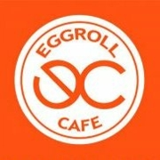 This is the restaurant logo for Eggroll Cafe