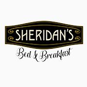 This is the restaurant logo for Sheridan's Bed & Breakfast
