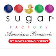 This is the restaurant logo for Sugar Factory