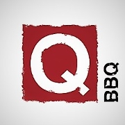 This is the restaurant logo for Q-BBQ Oak Park