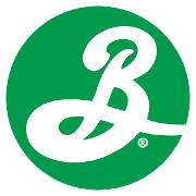 This is the restaurant logo for Brooklyn Brewery