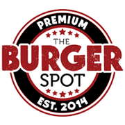 This is the restaurant logo for The Burger Spot 1