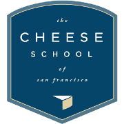 This is the restaurant logo for The Cheese School of San Francisco