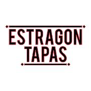 This is the restaurant logo for Estragon Tapas Bar