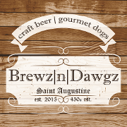 This is the restaurant logo for Brewz |n| Dawgz