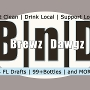 Restaurant logo for Brewz |n| Dawgz