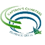 Restaurant logo for Captain's Quarters Riverside Grille
