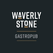 This is the restaurant logo for Waverly Stone Gastropub