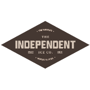This is the restaurant logo for The Independent Ice Company