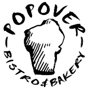 This is the restaurant logo for Popover Bistro & Bakery
