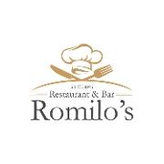 This is the restaurant logo for Romilo's Restaurant