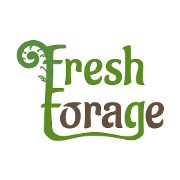 This is the restaurant logo for Fresh Forage
