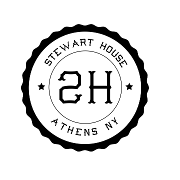 This is the restaurant logo for Stewart House