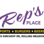 Restaurant logo for Rep's Place
