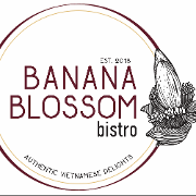 This is the restaurant logo for Banana Blossom Bistro