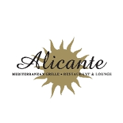 This is the restaurant logo for ALICANTE