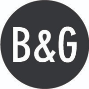 This is the restaurant logo for B & G Oysters
