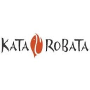 This is the restaurant logo for Kata Robata Sushi + Grill