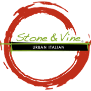 This is the restaurant logo for Stone & Vine Urban Italian
