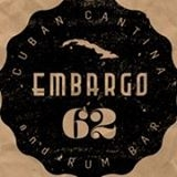 This is the restaurant logo for Embargo '62