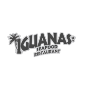 This is the restaurant logo for Iguana's Seafood Restaurant