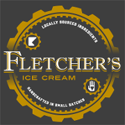 This is the restaurant logo for Fletcher's Ice Cream