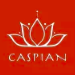 This is the restaurant logo for Caspian Kabab
