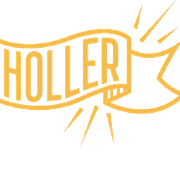 This is the restaurant logo for The Holler