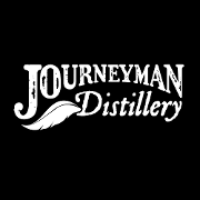 This is the restaurant logo for Journeyman Distillery