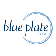 This is the restaurant logo for blueplate