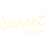 This is the restaurant logo for Sunset Social