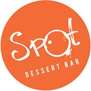 This is the restaurant logo for Spot Dessert Bar