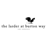 This is the restaurant logo for Larder at Burton Way