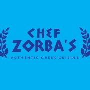 This is the restaurant logo for Chef Zorba's Restaurant