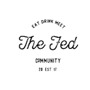 This is the restaurant logo for The Fed