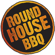 This is the restaurant logo for Round House BBQ