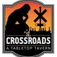 This is the restaurant logo for Crossroads Tabletop Tavern