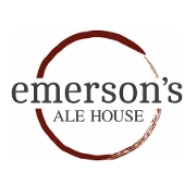 This is the restaurant logo for Emerson's Ale House