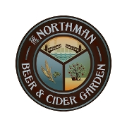 This is the restaurant logo for The Northman Beer and Cider Garden