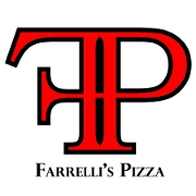 This is the restaurant logo for Farrelli's Pizza