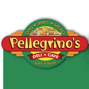This is the restaurant logo for Pellegrino's Deli Cafe