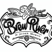 This is the restaurant logo for Brewriver at Sonder Brewing