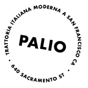 This is the restaurant logo for Palio
