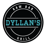 This is the restaurant logo for Dyllan's Raw Bar Grill