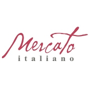 This is the restaurant logo for Mercato Italiano