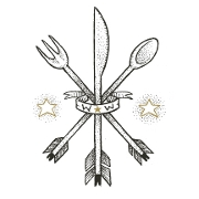 This is the restaurant logo for Wayward Smoke House