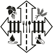 This is the restaurant logo for The Ways Restaurant and Brewery