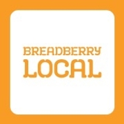 This is the restaurant logo for Breadberry Local