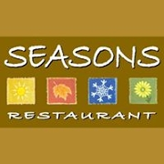 This is the restaurant logo for Seasons Restaurant