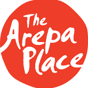 This is the restaurant logo for The Arepa Place